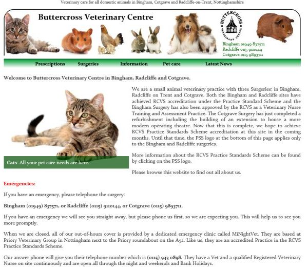 Buttercross Veterinary Center