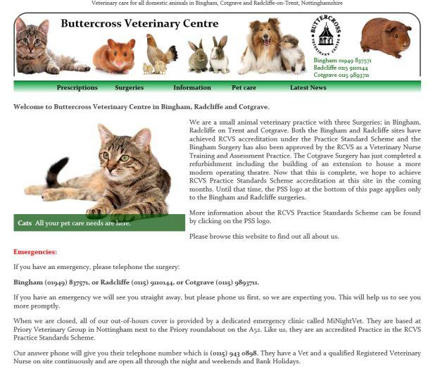 Buttercross Veterinary Center