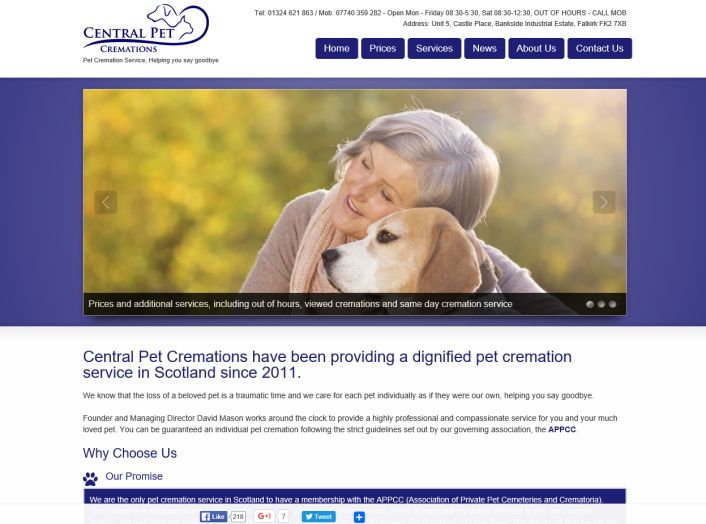 Central Pet Cremations