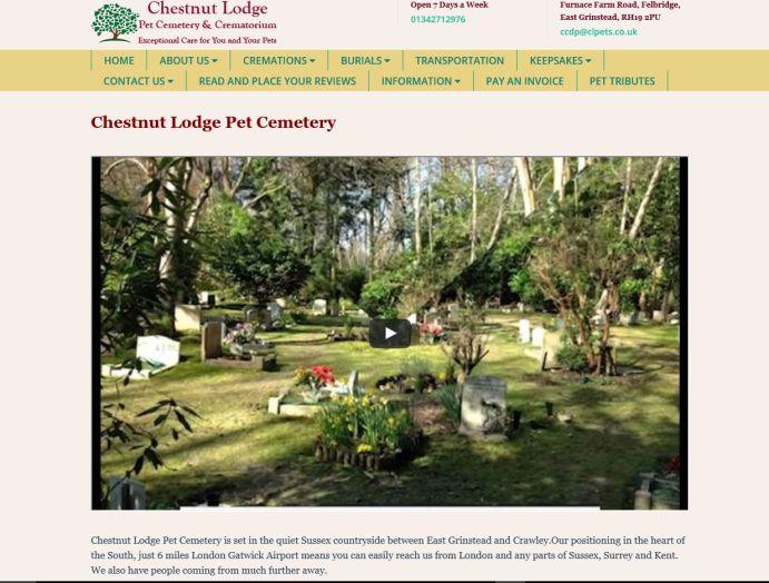 Chestnut Lodge Pet Cemetery