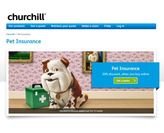 Churchill pet insurance