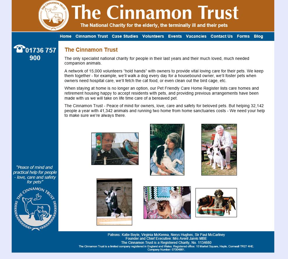 Cinnamon Trust
