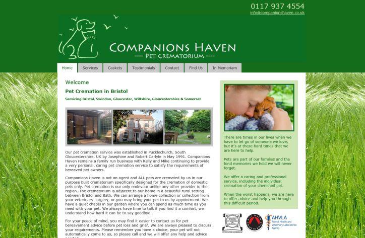 Companions Haven Ltd