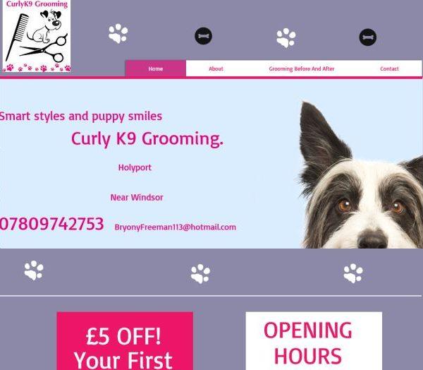 Curly K9 Grooming