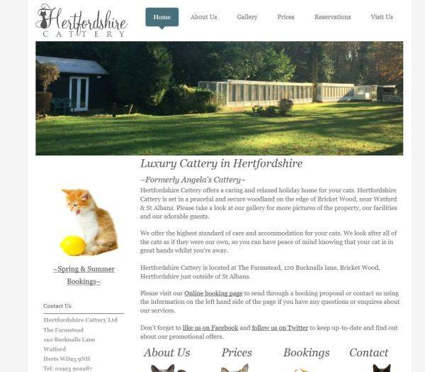 Hertfordshire Cattery