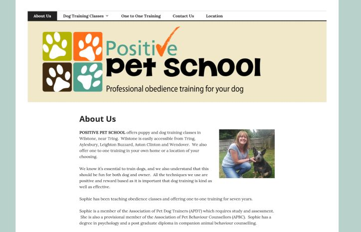 Positive Pet school