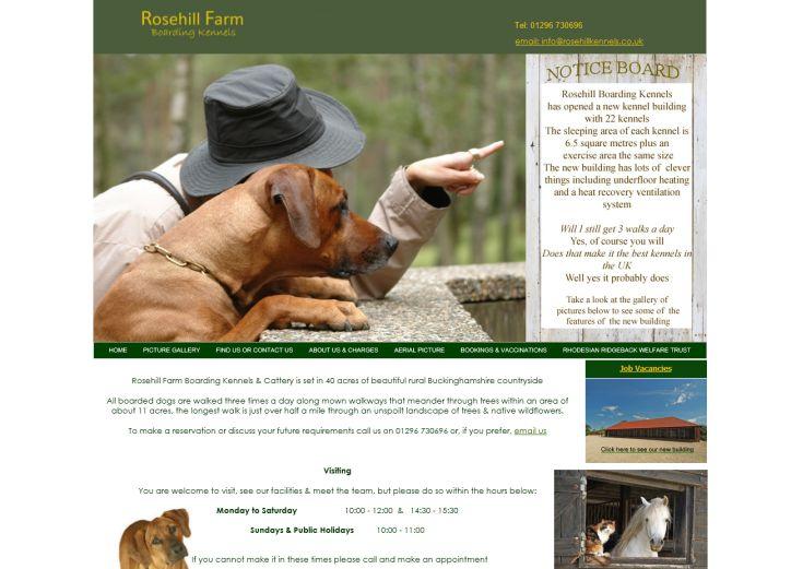 Rosehill Farm Boarding Kennels
