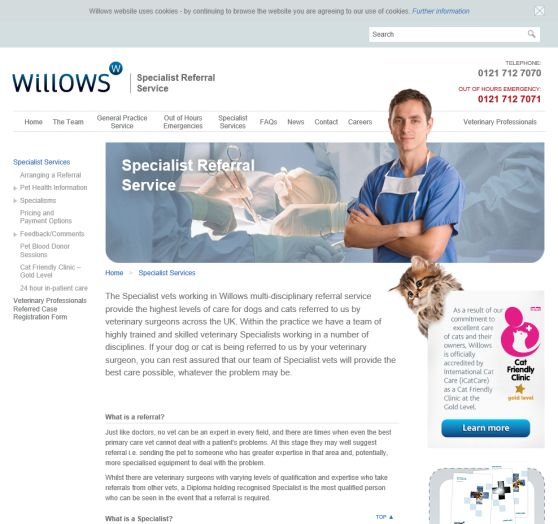Willows Veterinary Referral Service