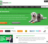 Go Compare pet insurance
