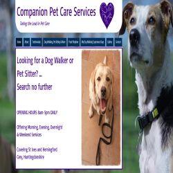 Companion Pet Care Services