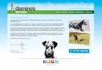 Domino's Pet Care