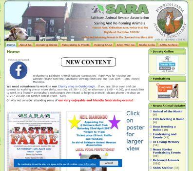Saltburn Animal Rescue Association